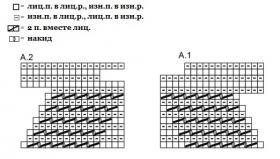 Болеро Генриетта - Схема 1