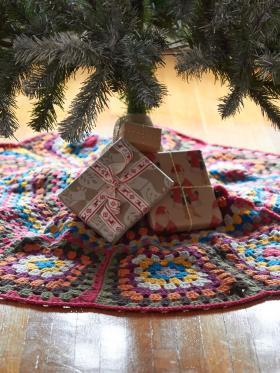 Коврик для новогодней елки - Фото 1
