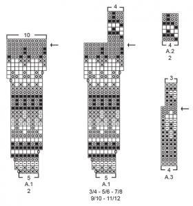 Джемпер Давлик - Схема 2