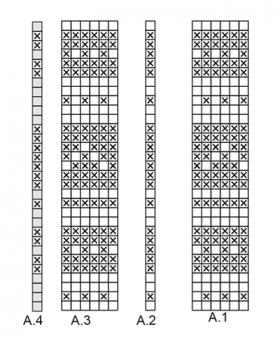 Джемпер уголок - Схема 1
