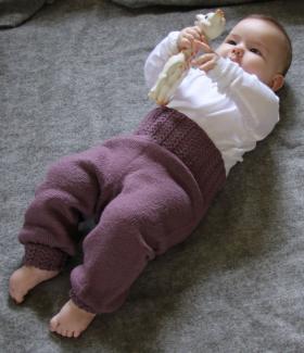 Штаны с узорчатой резинкой для ребенка