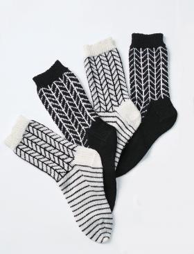 Носки с графичным рисунком
