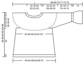 Пуловер Отдых в Рейкьявик - Выкройка 1