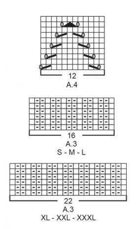 Кардиган Летний лучик - Схема 6