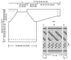 Свитер Валльрес - Схема 6