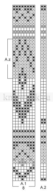 Джемпер Оулавюр - Схема 1