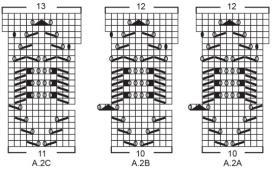 Кардиган Весенняя гармония - Схема 1
