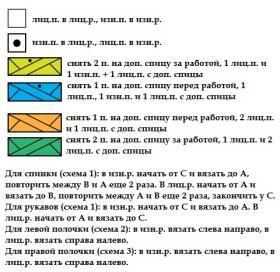 Кардиган Астильба - Схема 2