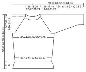 Джемпер винтажное очарование - Выкройка 1