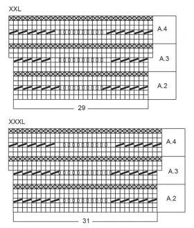 Жакет береговая линия - Схема 4