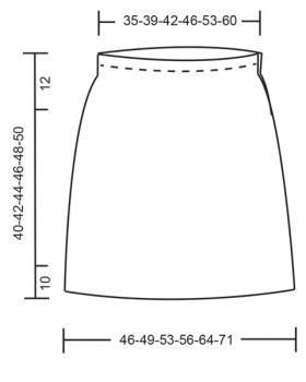 Юбка Беладонна - Выкройка 1
