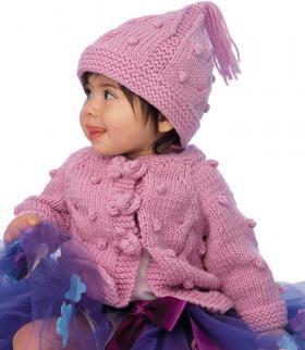 Розовый комплект для девочки