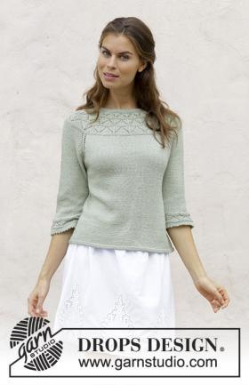 Пуловер Летний вечер