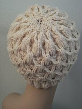 Шапка плетенка - Фото 1