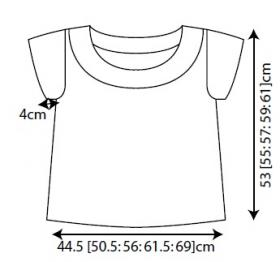 Пуловер Стокпорт - Выкройка 1