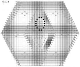 Шаль Бисбии - Схема 3