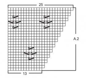 Джемпер Побережье - Схема 3