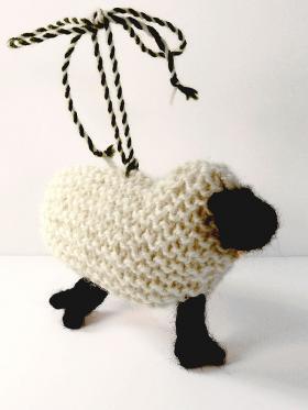 Брелок овечка