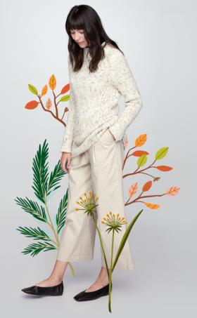Пуловер Текстурное смещение