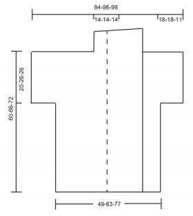 Жакет персиковый сорбет - Выкройка 1