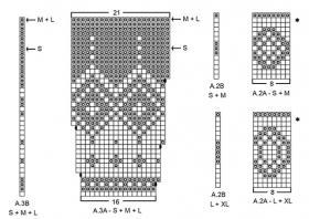 Жакет северная жемчужина - Схема 3