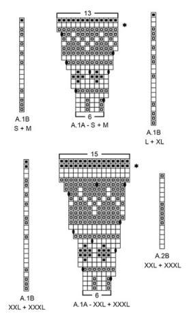 Жакет северная жемчужина - Схема 2