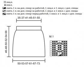 Юбка Белла - Схема 1
