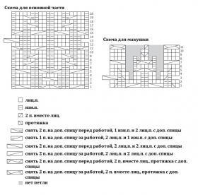 Шапка Ситуэйт - Схема 1
