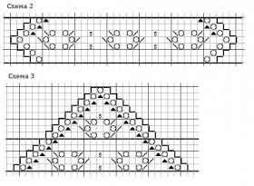 Шаль болотный кипарис - Схема 2