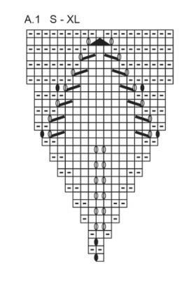 Джемпер осенняя лоза - Схема 2