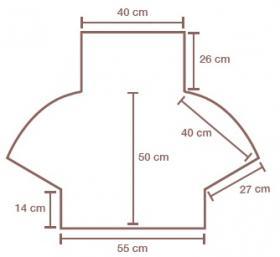 Свитер Порту - Выкройка 1