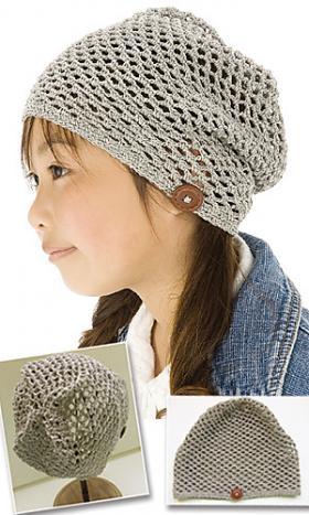 Сетчатая шапка