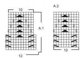 Болеро танго вдвоем - Схема 2