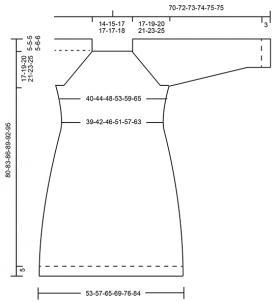 Платье горный вереск - Выкройка 1