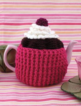 Чехол для чайника крючком в виде кекса