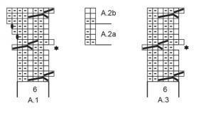 Комплект малиновый трюфель - Схема 1