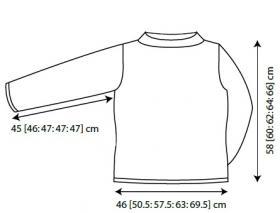 Пуловер Венера - Выкройка 1