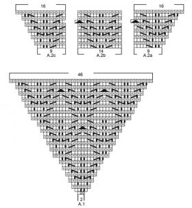 Туника Бали блю - Схема 2