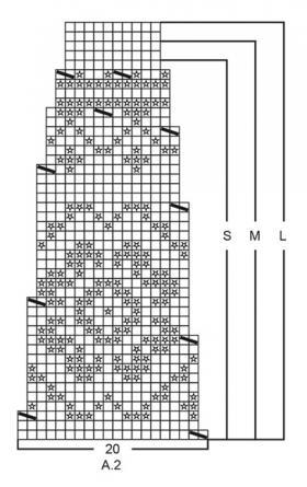 Пуловер Литорина - Схема 2