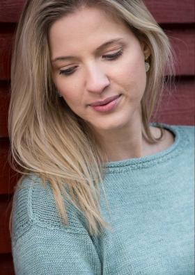 Пуловер с декоративными манжетами - Фото 2