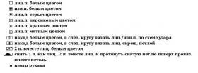 Пуловер Отдых в Рейкьявик - Схема 1