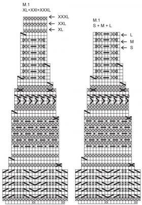 Кардиган Эйвери - Схема 1