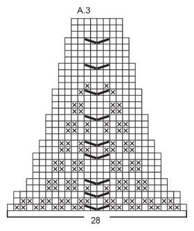 Джемпер Венсдей муд - Схема 3