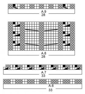 Комплект зимняя вьюга - Схема 3