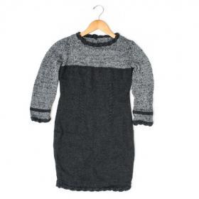 Маленькое черное платье спицами - Фото 1