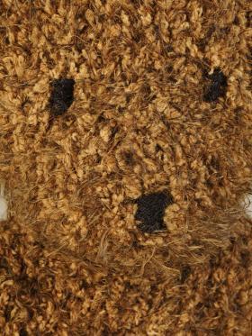 Медведь из плюшевой пряжи - Фото 1