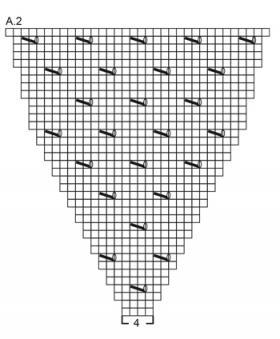 Топ летняя пена - Схема 3