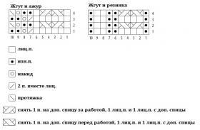 Шапка Камилла - Схема 1