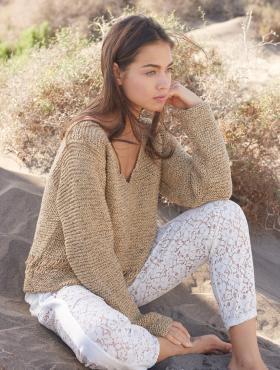 Пуловер Портофино
