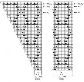 Джемпер Летние ракушки - Схема 3